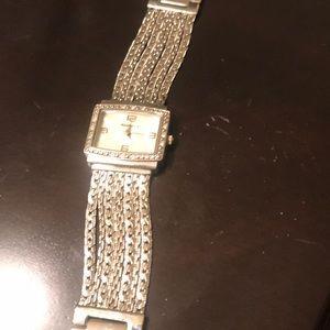 Silver watch Regency vintage